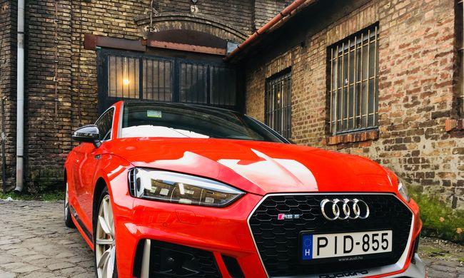 Audi RS5 teszt: és akkor kétszáznál bekapcsoltam az ülésmasszázst