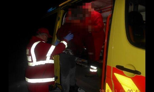 Hóban fekvő férfi hívta a kisbéri rendőröket, utolsó erejével mondta el, hol van