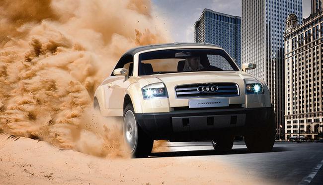 Elfelejtett koncepciók 2. - Audi és Jeep