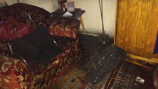 Hatalmas lángok és sűrű füst: kimenekítették az embereket Mátészalkán - fotó