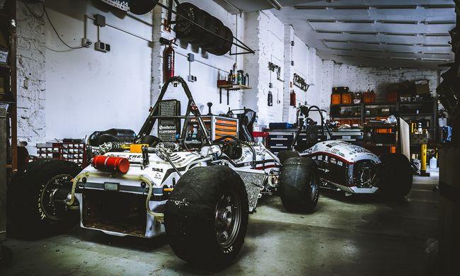 Rajtol a magyar Formula-robotautó