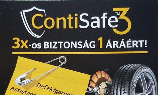 4 gumi, 3 x biztonság, 2 év, 1 díj