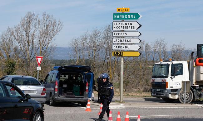 """""""Terrortámadás történt"""" - túszokat ejtettek egy francia szupermarketben"""