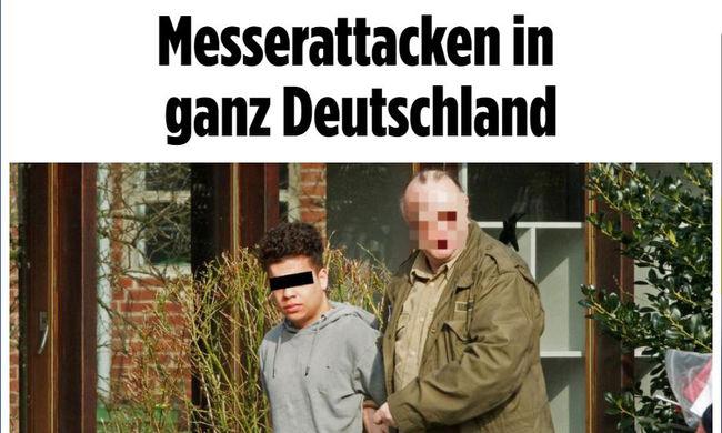 Vérbe borult Németország: késes támadók rontottak a lakosokra