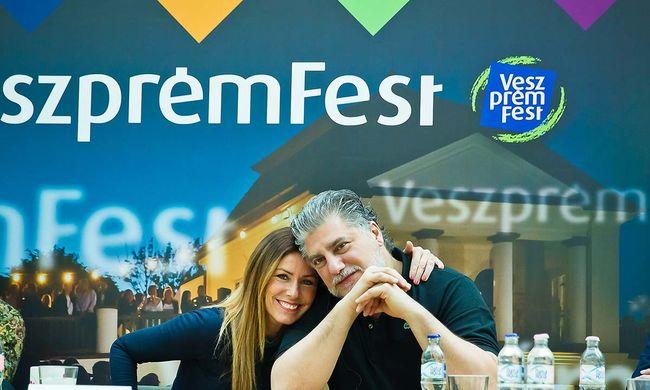 Sztárvedégek közreműködtek a VeszprémFest programjait bejelentő eseményen