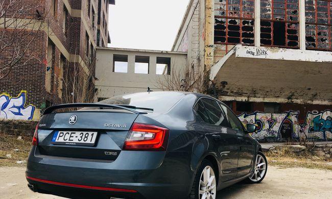 Skoda Octavia RS teszt: egy cseh mindenek felett