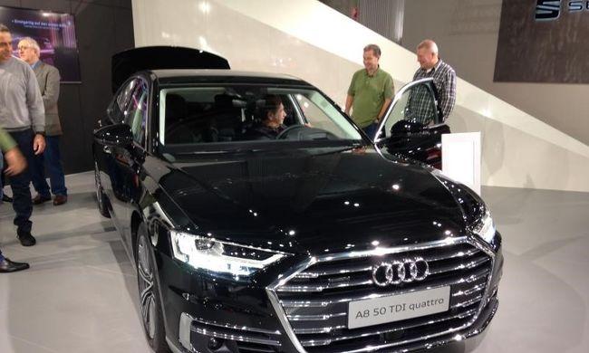 Elnöki ügy: az új Audi A8