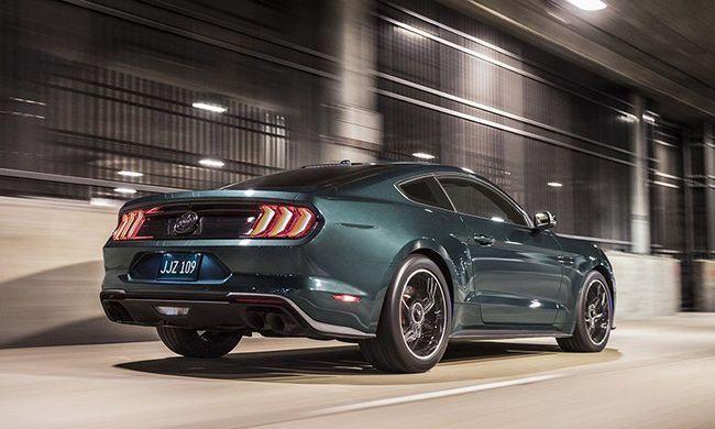 Bullitt, a Mustang extra szériája