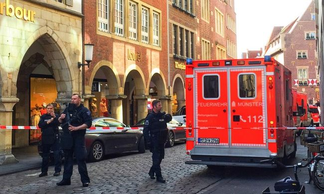 Megszólalt egy szemtanú, így történt a borzalmas münsteri támadás