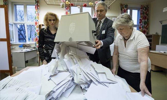 Későn tudjuk meg a választás eredményét - Budapesten még másfél kilométeres a sor