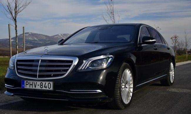 Minden ingerküszöbön felül - Mercedes-Benz S400d 4matic teszt