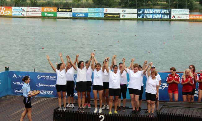 Második lett az A-Híd sárkányhajó csapata Szegeden