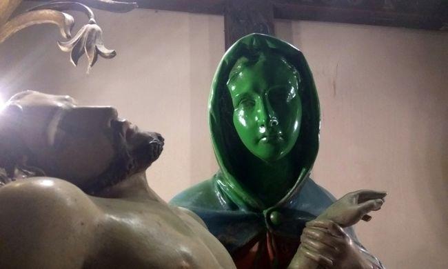 Ízléstelen dolgot tett Szűz Mária fejével a jánoshalmi férfi