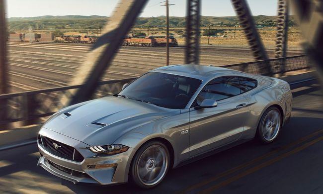 Megtetszett a Mustang Európának