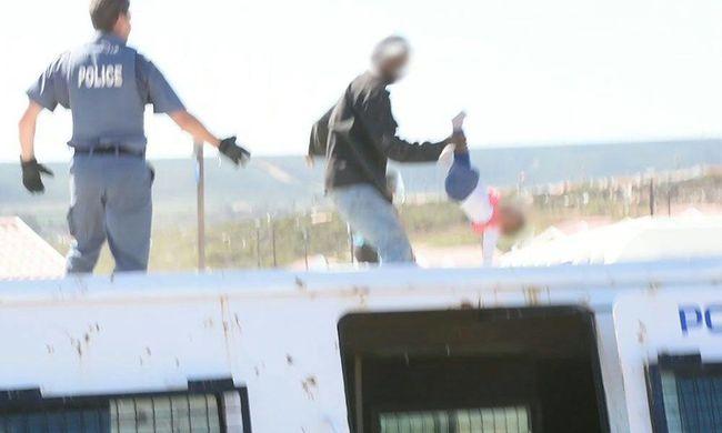 Tiltakozásból dobta le a tetőről hat hónapos gyerekét az apa