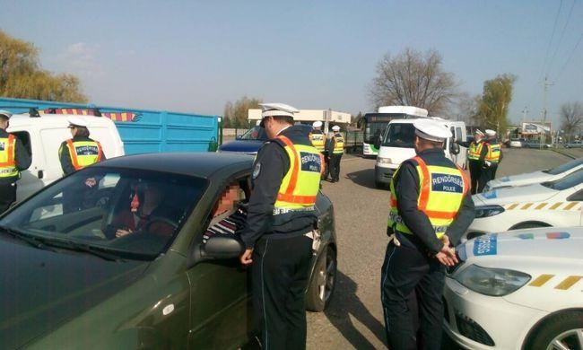 Rendőrök ellenőriztek Nyíregyházán, két ittas sofőr lebukott