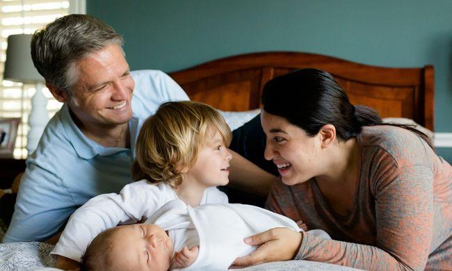 Különleges összefüggés: tovább élhetnek, akiknek gyereke születik