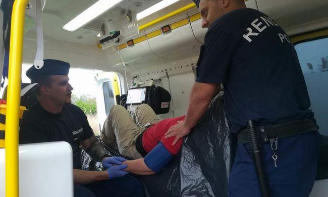 Kétségbeesett hívást kaptak a magyar rendőrök, bokrok között találtak az asszonyra