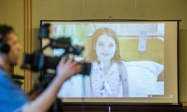 """""""A legnagyobb érdem Dorkáé"""" - így érzi most magát az első hazai tüdőátültetésen átesett kislány"""