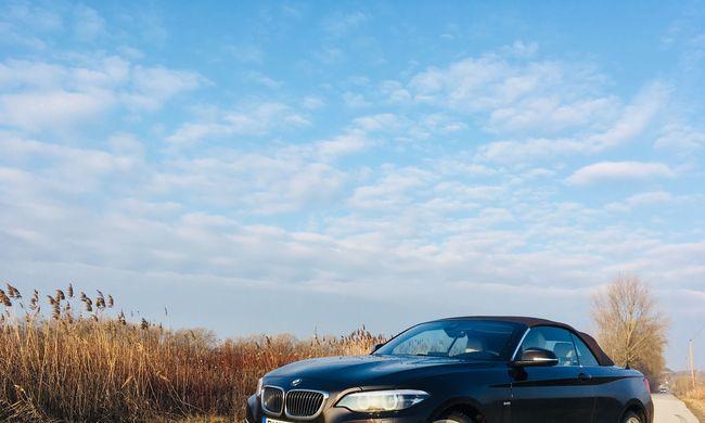 BMW 230i Cabrio teszt: lájkmágnes