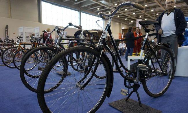 Ritka magyar kerékpárok is voltak az AMTS-en