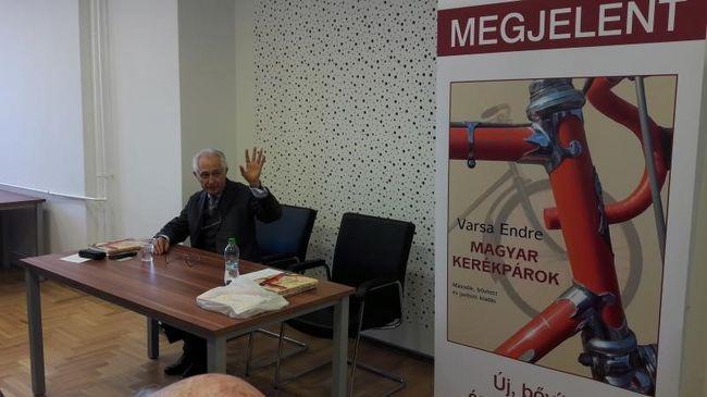 Ezt szívvel kell tekerni: megjelent a Magyar kerékpárok második kiadása