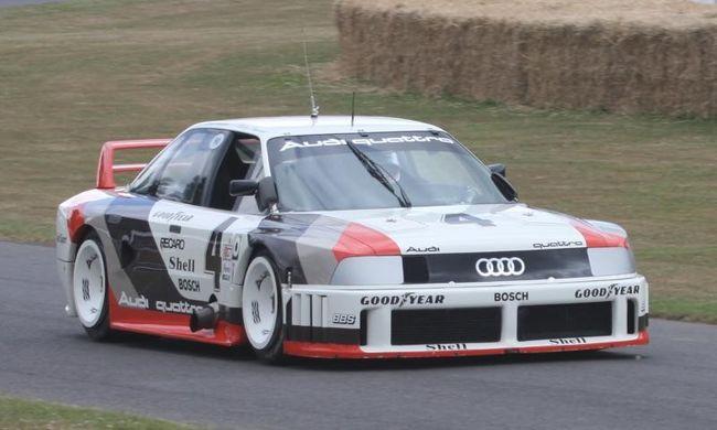 Az Audi legendás sorötöse