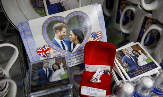 Elkapkodták Harry herceg és Meghan Markle esküvői relikviáit