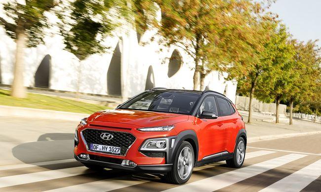 Merész dizájnnal hódít a Hyundai Kona