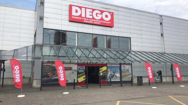 Prága után Brnoban is lesz Diego bolt