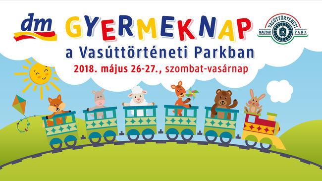 DM Gyermeknap a Vasúttörténeti parkban!