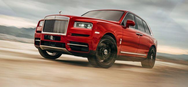 Bemutatkozott a Rolls-Royce Cullinan - Száguld a szuperluxus