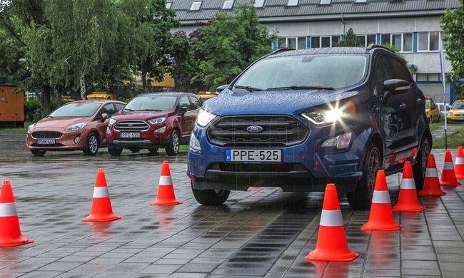 Veszélyben a fiatalok: vezetéstechnikai tréning a Fordtól