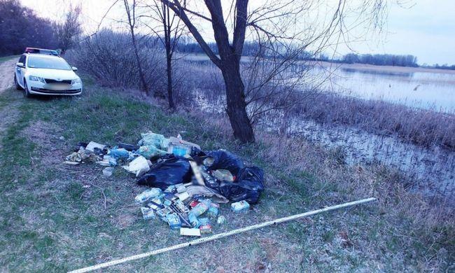 Botrány Debrecenben: a tóparton szabadultak meg a veszélyes hulladéktól
