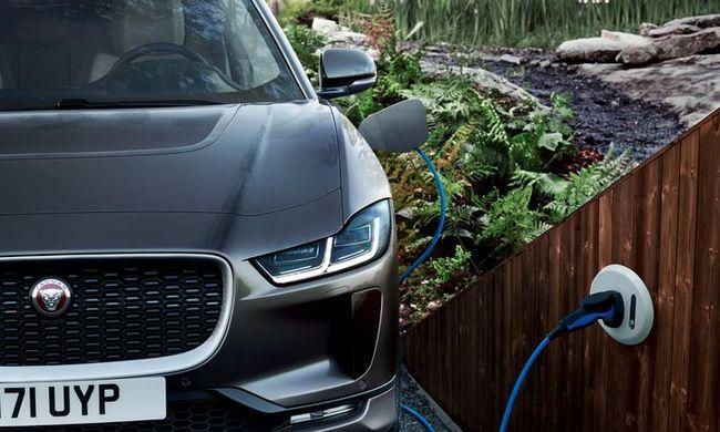 Lopakodó üzemmód - új Jaguar I-Pace