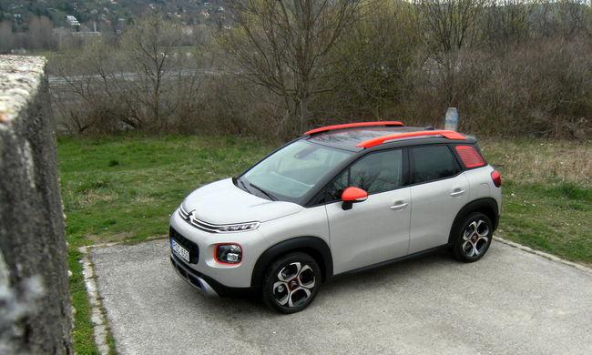 C3 Aircross: feltűnően Citroën