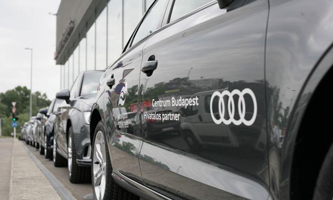 """""""A magyar úszósport is prémiumkategóriás, akárcsak az Audi!"""""""