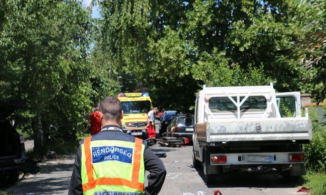 Tragédiáról érkezett hír, a kaposvári motorosnak esélye sem volt - fotók