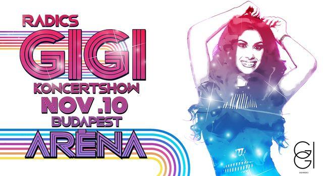 Elképesztő koncertshow-ra készül Radics Gigi