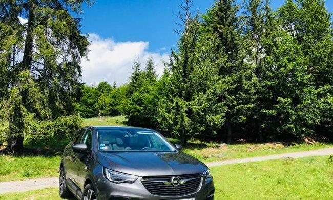 Dízel vagy benzines? Opel Grandland X teszt