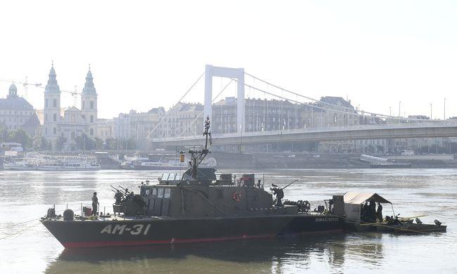 Megtalálták a bombát a Dunában, ez most a helyzet Budapesten
