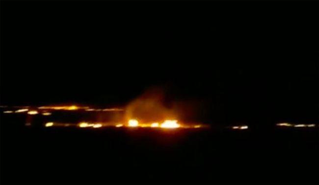 UFO-baleset a foci-vb közelében, robbanás rázta meg a sztyeppét