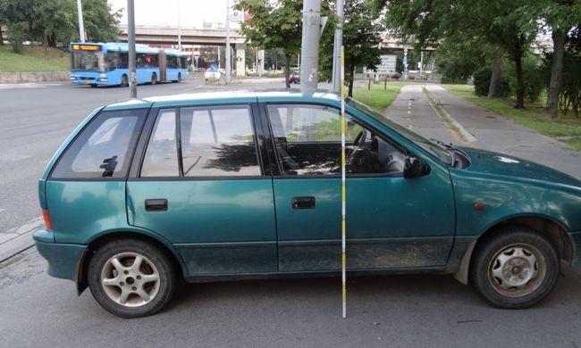 Hihetetlen mit tett a két Nógrád megyei fiatal, miután kifogyott a lopott kocsiból a benzin