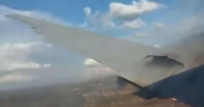 Tragikus légibaleset történt, egy utas videóra vette a zuhanást