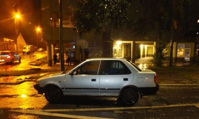 Botrány Kaposváron: csak kocsikázni akart a férfi, ezért autót lopott