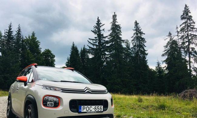 Citroen C3 Aircross teszt: vagányságból jeles