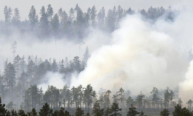 Máshogy nem tudták eloltani: lebombázták az erdőtüzet az európai országban