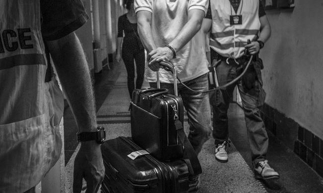 Készültség a budapesti reptéren: elfogták az egész Európában körözött külföldit