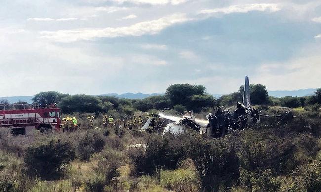 A pilóta és egy gyerek sérült meg súlyosan, megtalálták a lezuhant utasszállító feketedobozát