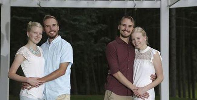 Különös párválasztás: egypetéjű fiú ikrek házasodnak össze egy egypetéjű nő ikerpárral